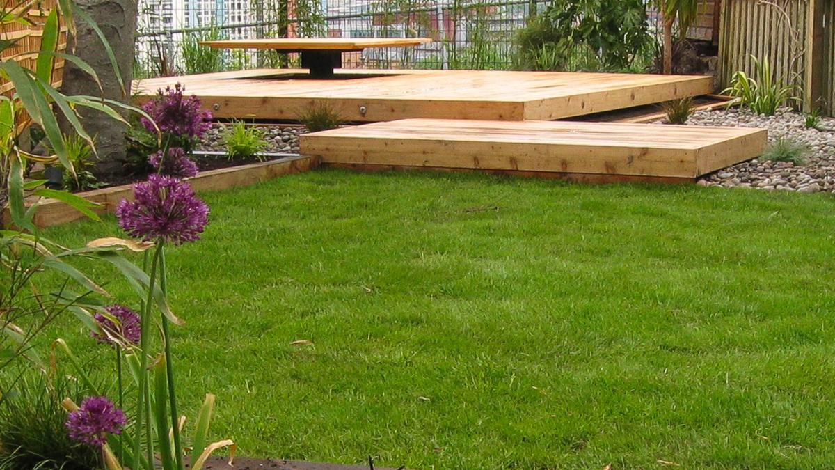 Floating deck garden peak garden design in sheffield landscape floating deck workwithnaturefo