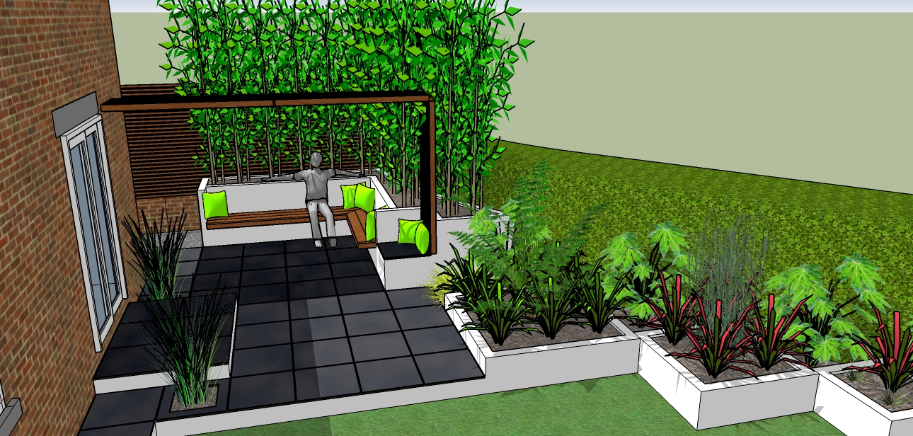 Landscape Garden Design Sheffield : Peak garden design in sheffield landscape designer